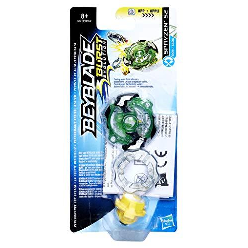 Hasbro Beyblade Burst E1048ES0 Single Top SPRYZEN S2 RD, Kreisel