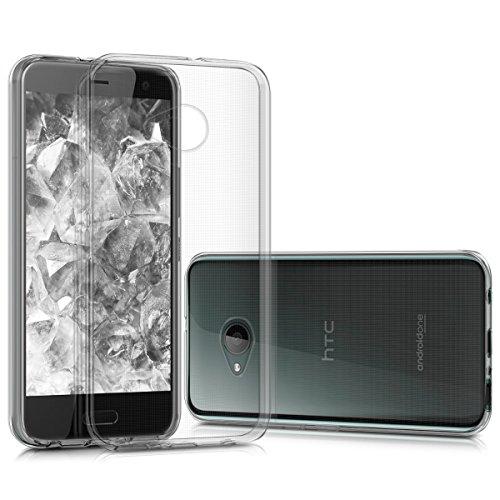 kwmobile Hülle kompatibel mit HTC U11 Life - Handyhülle - Handy Case in Transparent