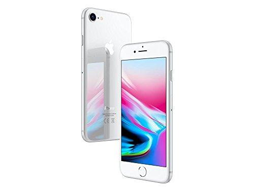 """Apple iPhone 8, 4,7\"""" Display, Sim-Free, 64 GB, 2017, Silber (Generalüberholt)"""