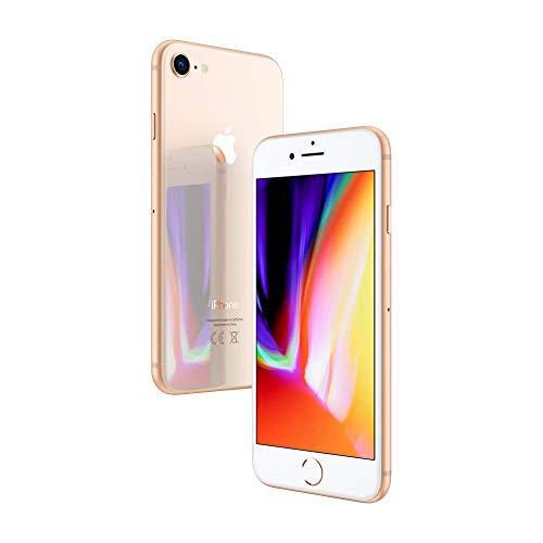 "Apple iPhone 8, 4,7\"" Display, Sim-Free, 64 GB, 2017, Gold (Generalüberholt)"