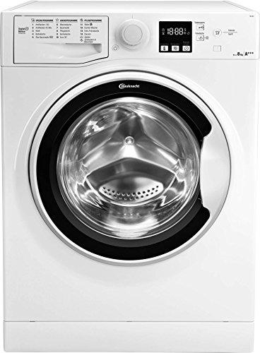 Bauknecht FWL 8F4 Waschmaschine Frontlader / A+++ / 1400 UpM / 8 kg / Weiß / langlebiger Motor / Nachlegefunktion / Wasserschutz