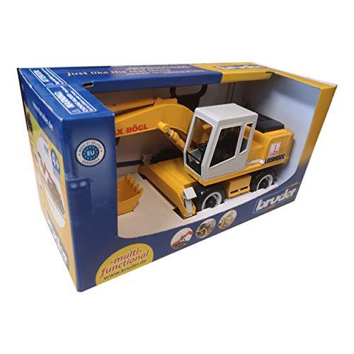 bruder 9058 Bagger, gelb
