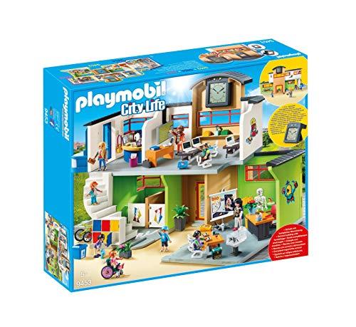 PLAYMOBIL City Life 9453 Große Schule mit Einrichtung, Ab 5 Jahren