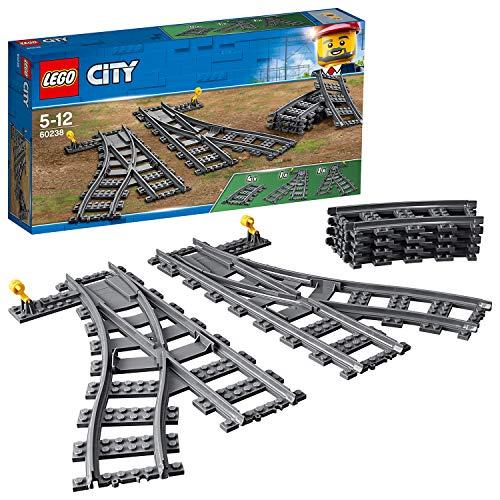 LEGO City Weichen 60238 Spielzeugeisenbahn