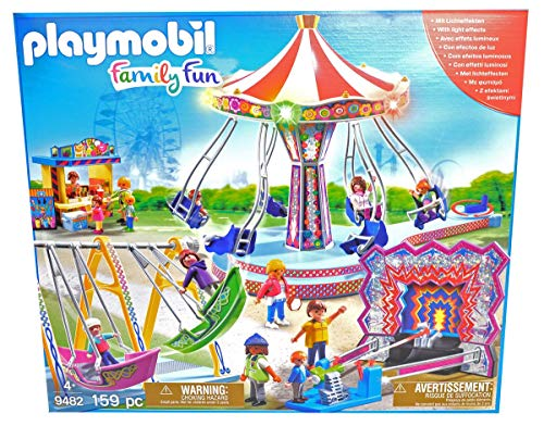 PLAYMOBIL 9482 Spielzeug - Großer Kirmes Spaß