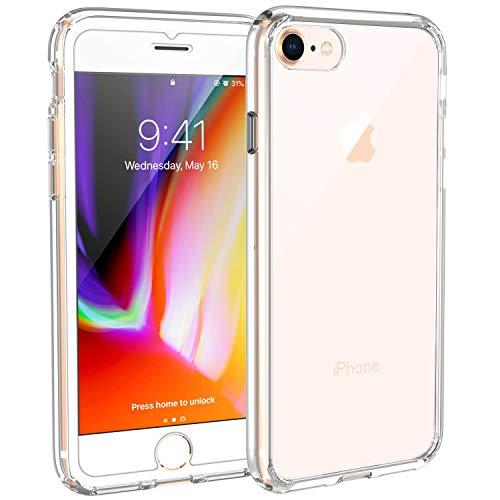 iPhone 8 iPhone 7 Hülle, Syncwire iPhone 8 Schutzhülle mit Extrem Hohen Fallschutz und Luftkissen-Technologie Handyhülle für Apple iPhone 8/7 4.7 Zoll, Kristallklar