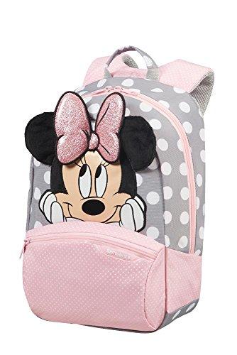 Samsonite Disney Ultimate 2.0 - Kinderrucksack S+, 35 cm, 11.5 L, Mehrfarbig (Minnie Glitter)
