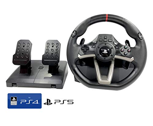 PS4 Lenkrad und Pedale Orig. Licensed Sony PS4 RWA Apex mit Multi Vibration TouchSense® (PS4/PS3/PC)