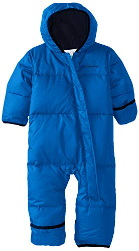 Columbia Schneeanzug für Kinder, SNUGGLY BUNNY BUNTING, Polyester, Blau (Super blue/Collegiate navy), Gr. 12/18 Monate, 1516331
