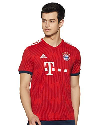 adidas Herren 18/19 FC Bayern Home Trikot, FCB True Strong red/White, 2XL