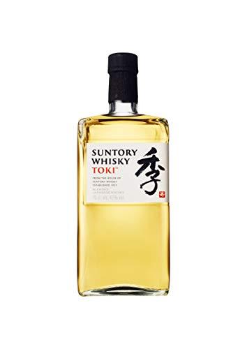 Suntory Whisky Toki Japanischer Blended Whisky mit feinem, süßen und würzigem Abgang, 43{7fcaeac515b45f83ea838e9dccab38c50da056d18fe23cdb1a453c4dae097bfa} Vol, 1 x 0,7l