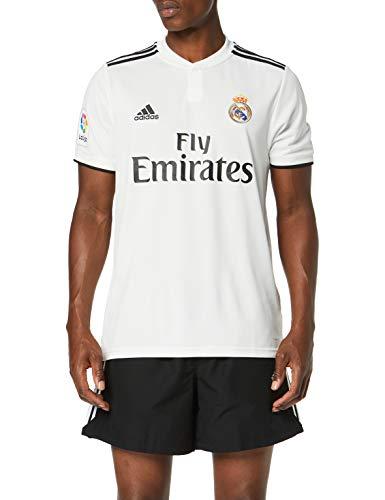 adidas Herren Real Madrid Home JSY T-Shirt, Weiß (White Cg0550), Medium (Herstellergröße: M)