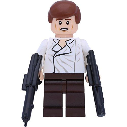 LEGO® Star Wars™ Minifigur Han Solo (75137) mit GALAXYARMS Waffen
