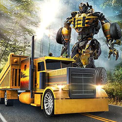 Offroad Truck Roboter Transform Simulator 3D: Rettungs Bots Transformation Robo City Held Abenteuer Spiel kostenlos für Kinder