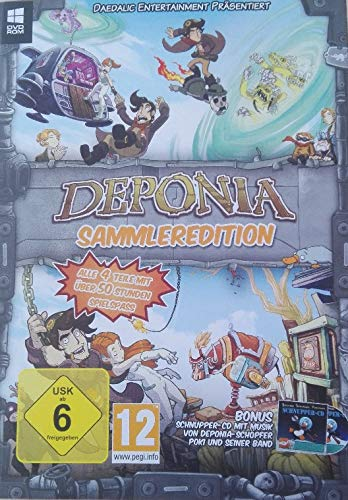 DEPONIA Sammleredition (alle 4 Teile in einer Edition)