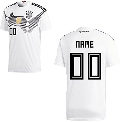 adidas Fußball DFB WM 2018 Deutschland Trikot Herren Wunschname 00