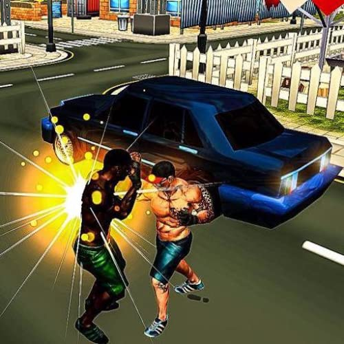 Stadt Zappeln Held Vs Gangland Gangster Kampf Kampf Kommando Krieger Revolution 3D Spiel: Superheld Criminal City Battle Crime Abenteuer Aktion Simulator 2018 Kostenlos für Kinder