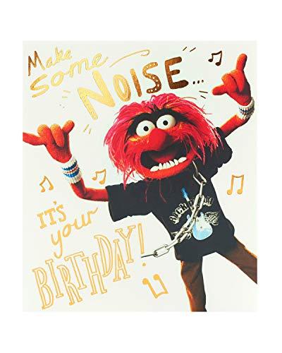 UK Greetings Lustige Geburtstagskarte – Geburtstagskarte für ihn – lustiges Muppet-Design 602457-0-1