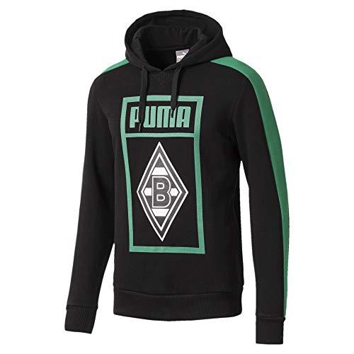 PUMA Borussia Mönchengladbach Herren Shoe Tag Hoodie - Puma Black - S