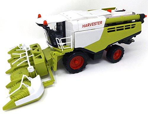 Brigamo Spielzeug Maishäcksler Feldhäcksler Fahrzeug 44 cm, Maßstab 1:16