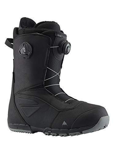 Burton Herren Ruler Boa Black Snowboard Boot, schwarz(Black), 43.5 EU(9.5)