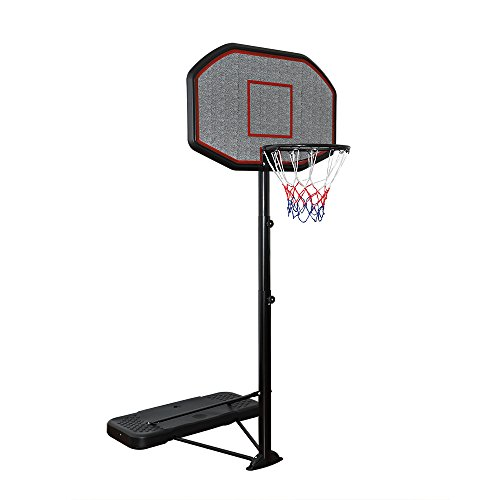 Display4top Einstellbare Portable tragbar Basketballkorb und Ständer System (200-305 cm)