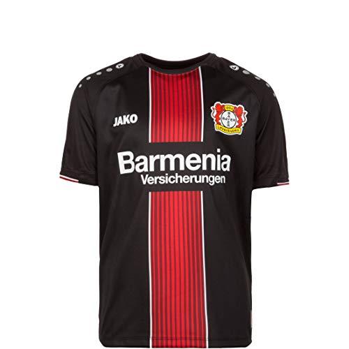 JAKO Kinder Bayer 04 Leverkusen Heim 2018/2019 Teamtrikot, schwarz/Rot/Weiß, 164