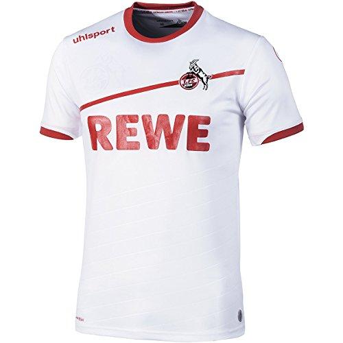 uhlsport 2018/2019 Herren 1. Fc Köln Heimtrikot, weiß/rot, M