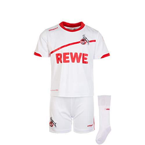 uhlsport 1.FC Köln Trikot Heim Mini-Ket Set 2018/2019 Rot, 66/74