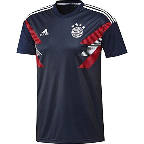 adidas Herren FC Bayern Pre-Match Trikot, Collegiate Navy/White, M
