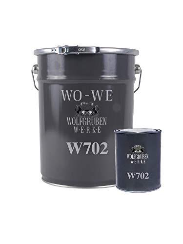2K Epoxidharz Garagenfarbe Bodenbeschichtung W702 Anthrazit-Grau wie RAL 7016-5Kg