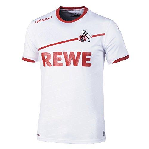 uhlsport 1.FC Köln Trikot Heim 2018/2019 Weiß Rot, 5XL