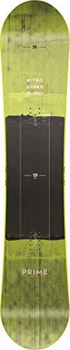Nitro Snowboards Herren Prime Toxic BRD\'19 Board, Mehrfarbig, 165