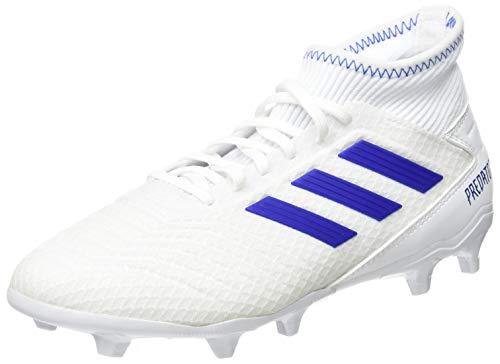 adidas Herren Predator 19.3 FG Fußballschuhe, Mehrfarbig (Ftwbla/Azufue/Azufue 000), 43 1/3 EU