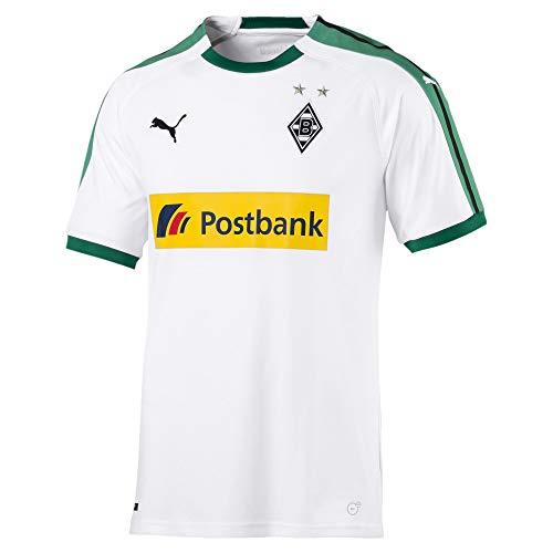 PUMA Herren Borussia Mönchengladbach Home 2018/2019 T-Shirt, weiß, L-52/54