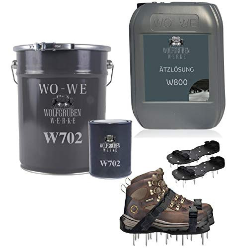 2k Epoxidharz Bodenbeschichtung Komplett Set RAL 7032 Kieselgrau 25qm