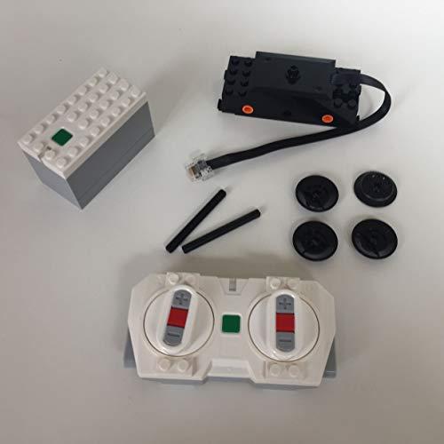 Lego Eisenbahn Bluetooth Fernbedienung, Batteriebox Akkubox, Eisenbahnmotor Power Funtions 2.0 60197/ 60198