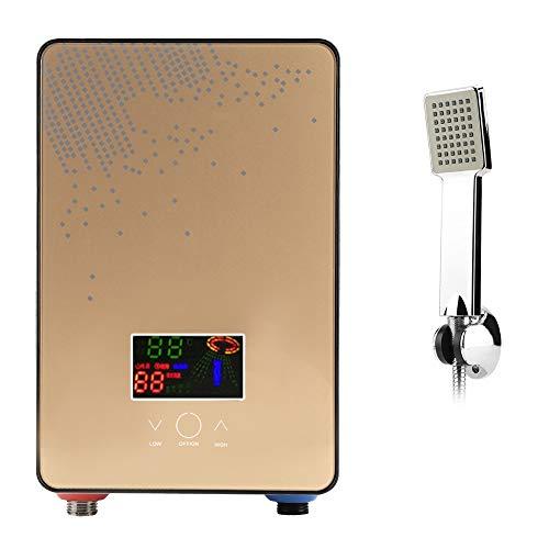 Elektrischer Durchlauferhitzer Durchlauferhitzer ohne Tank 220 V für die sofortige Warmwasserversorgung Badezimmerzubehör mit selbstmodulierender Temperaturtechnologie