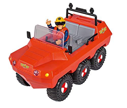 Simba 109251051 Feuerwehrmann Sam Hydrus Fahrzeug mit Einer Figur One Size