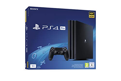 PlayStation 4 Pro - Konsole (1 TB, schwarz, Pro, Modell: CUH-7216B)
