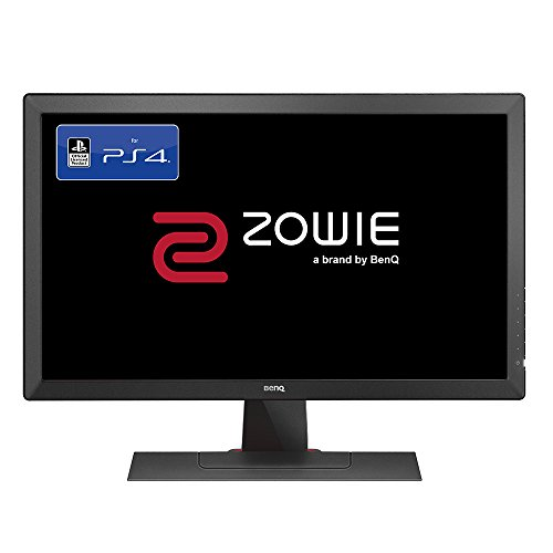 BenQ ZOWIE RL2455S 60,96 cm (24 Zoll) Konsolen e-Sports Monitor (offiziell lizensiert für PS4/PS4 Pro, Lag-free, Black eQualizer, Color Vibrance, 1ms Reaktionszeit) grau