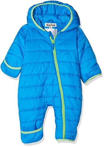 Playshoes Unisex Baby Stepp-Overall Uni Schneeanzug, Blau (Blau 7), 80