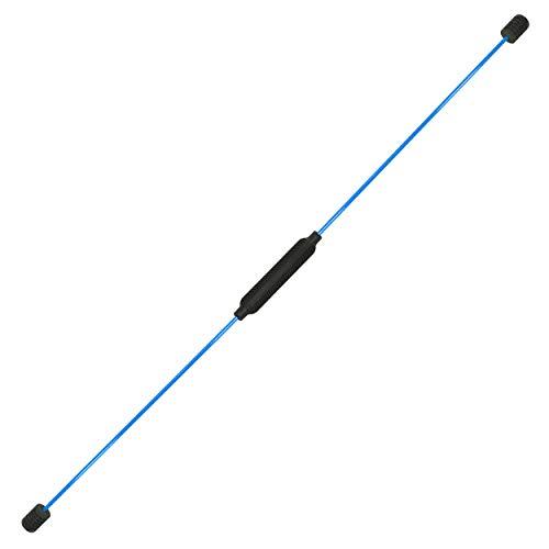Best Sporting Swing Stick Schwingstab mit Trainigsanleitung (1 Swing Stick blau)