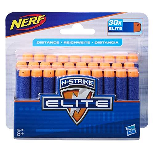 Hasbro Nerf A0351 Nerf N-Strike Elite 30er Dart Nachfüllpack, Multicolor