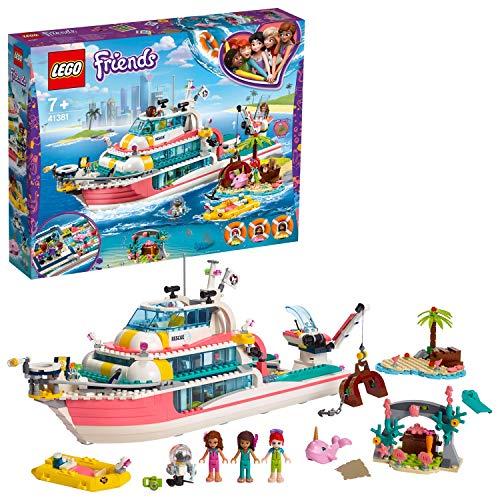 LEGO41381- Friends Boot für Rettungsaktionen, Bauset