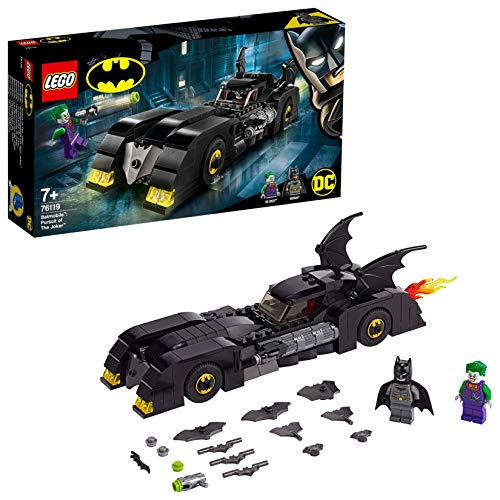 LEGODCBatman Batmobile 76119 - Verfolgungsjagd mit dem Joker, Bauset