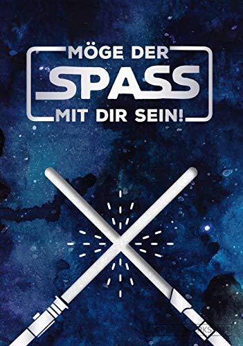 """GRAFIK WERKSTATT Das Original Glückwunschkarte Geburtstag, Musikkarte mit Sound, Song \""""Star Wars Theme\"""""""