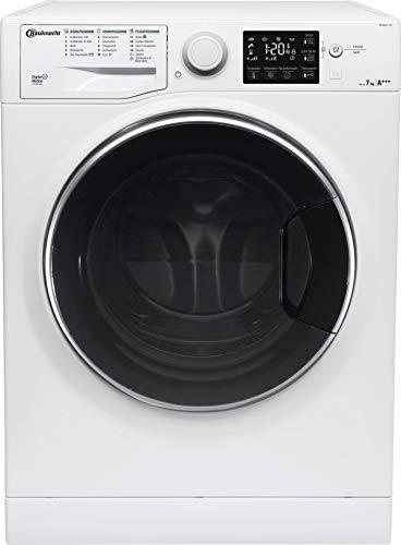 Bauknecht WM Steam 7 100 Waschmaschine Frontlader/A+++/1400 UpM/7 kg/Weiß/langlebiger Motor/Antiflecken 100/Dampf-Option/EcoTech Mengenautomatik/2+2 Jahre Herstellergarantie