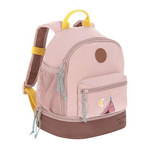 LÄSSIG Kinderrucksack Mädchen mit Brustgurt Kindergartentasche Kindergartenrucksack / Mini Backpack, Adventure Tipi