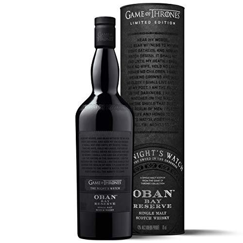 Oban Little Bay Reserve Single Malt Scotch Whisky – Die Nachtwache Game of Thrones Limitierte Edition (1 x 0.7 l)